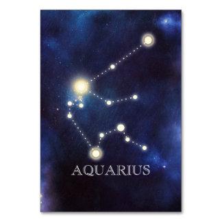 Constellation | Aquarius | Wedding Table Number