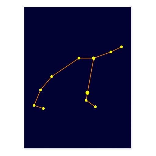 Constellation constellation Perseus Post Card