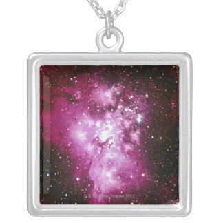 Constellation Image Silver Plated Necklace