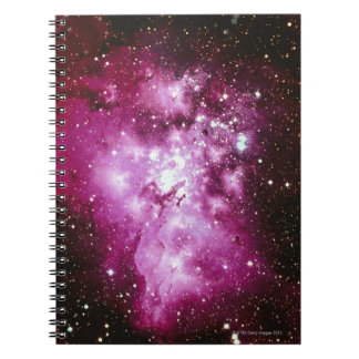 Constellation Image Spiral Notebooks