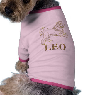Constellation: Leo Doggie T Shirt