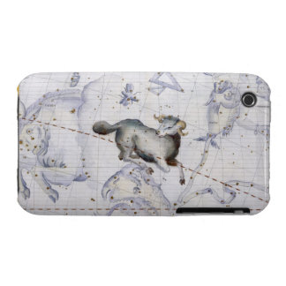 Constellation of Aries, plate 4 from 'Atlas Coeles iPhone 3 Cases