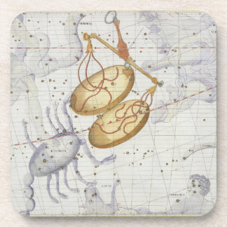 Constellation of Libra, plate 7 from 'Atlas Coeles Coaster