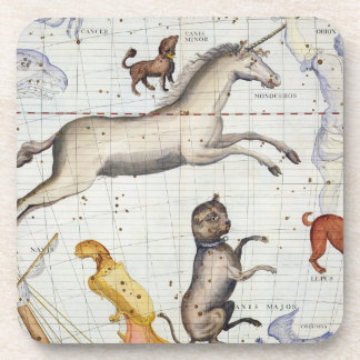Constellation of Monoceros with Canis Major and Mi Coaster