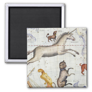 Constellation of Monoceros with Canis Major and Mi Refrigerator Magnets