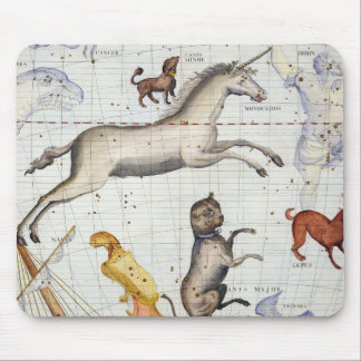 Constellation of Monoceros with Canis Major and Mi Mouse Pad