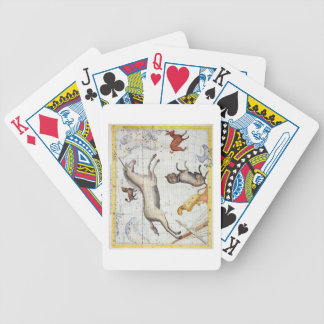 Constellation of Monoceros with Canis Major and Mi Poker Deck