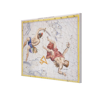 Constellation of Perseus and Andromeda, from 'Atla Gallery Wrapped Canvas