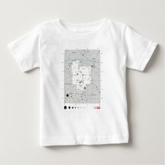 Constellation Orion The Hunter Chart Baby T-Shirt