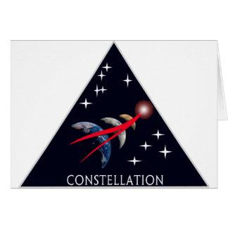 Constellation Program Logo Greeting Cards