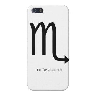 Constellation Scorpio Iphone 5 case