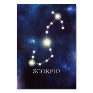 Constellation | Scorpio | Wedding Table Number