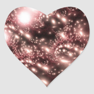 Constellation Heart Sticker