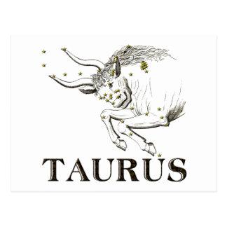 Constellation: Taurus Postcard