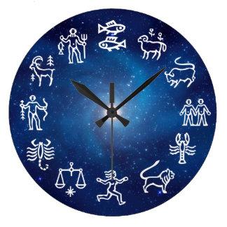 Constellation(Zodiac) Large Clock