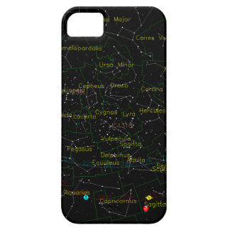 Constellations Map of the Sky iPhone 5 Cover