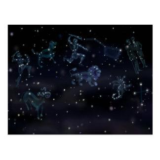 Constellations Postcard