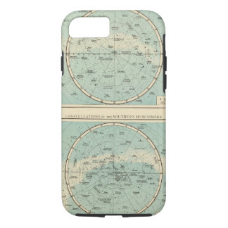 Constellations, Solar System, Moon iPhone 8/7 Case