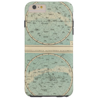 Constellations, Solar System, Moon Tough iPhone 6 Plus Case