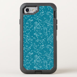 Constellations Zodiac Night Stars / Andrea Lauren OtterBox Defender iPhone 7 Case