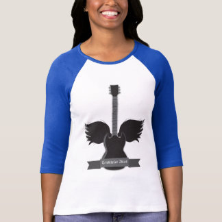 Constitution Blues (R) Guitar Eagle Raglan T-Shirt