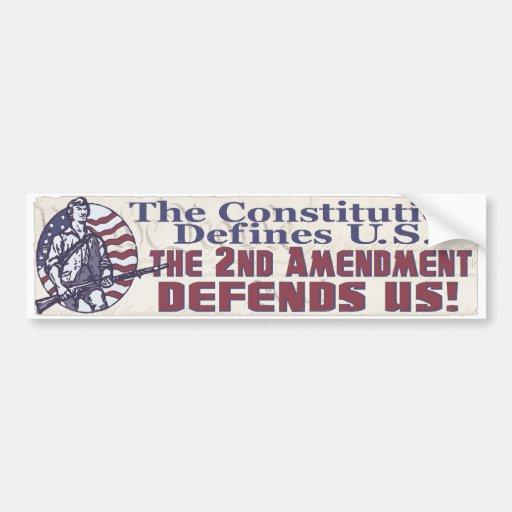 2nd Amendment Bumper Stickers