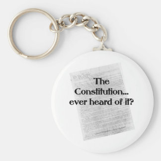 Constitution heard of it key chains