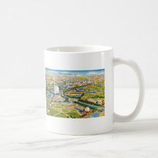 Constitution Mall at the World's Fair Coffee Mugs