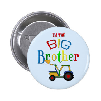 Construction Big Brother Gifts 6 Cm Round Badge