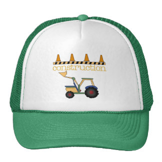 Construction Bucket Loader t-shirts and Gifts Trucker Hat