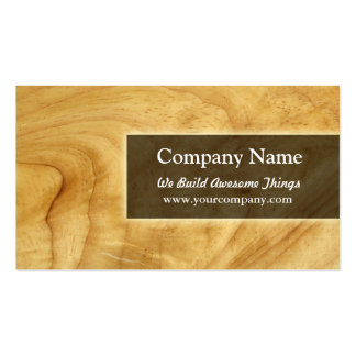 construction carpentry business card template