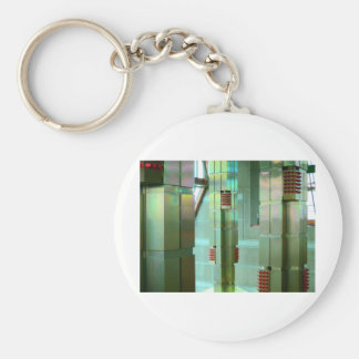 construction details basic round button key ring