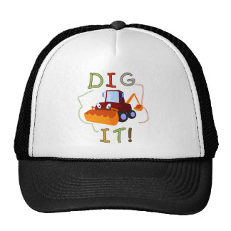 Construction Dig It T-shirts and Gifts Hat