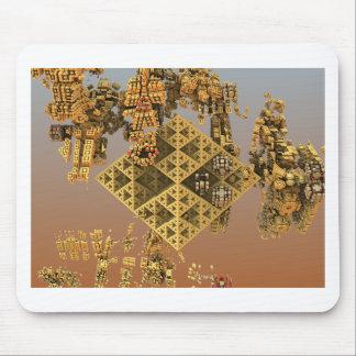 """Construction"" futuristic abstract art Mousepad"