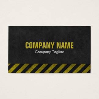 Construction (Grunge) Business Cards