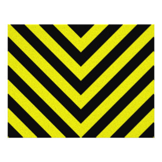 Construction Hazard Stripes 21.5 Cm X 28 Cm Flyer