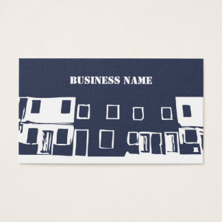 Construction - Minimalist - Business Card Template
