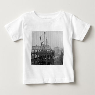 Construction of One Times Square New York City Tshirt