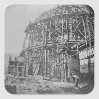 Construction of the British Museum Reading Sticker