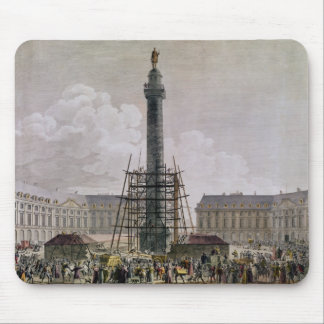 Construction of the Vendome Column in 1803-10 Mouse Pad