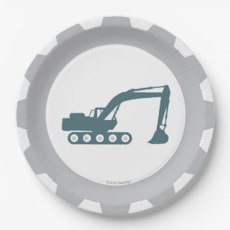 Construction Party Paper Plates