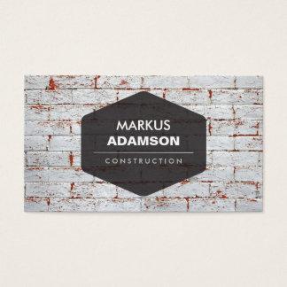 Construction, Repair, Handyman Business Card