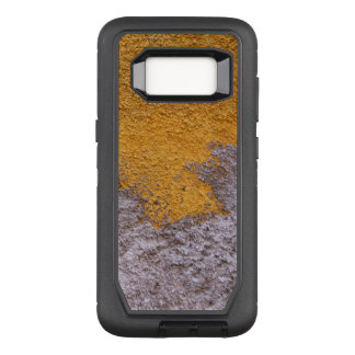Construction Rough Beton Surface Grey Yellow OtterBox Defender Samsung Galaxy S8 Case
