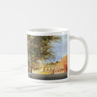 Construction Site With Willows Coffee Mug