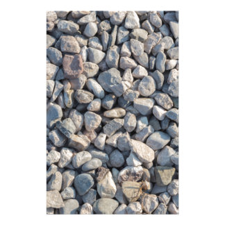 construction stones in the quarry custom stationery