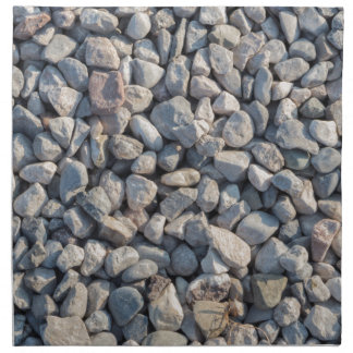 construction stones in the quarry napkin