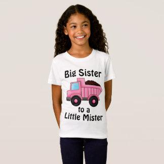 Construction Truck Big Sister to a Little Mister T-Shirt