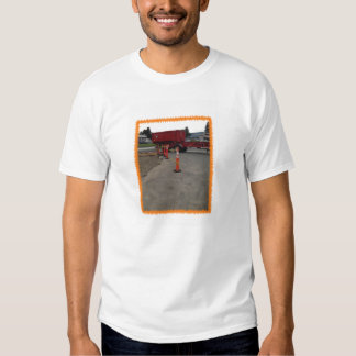 Construction worker and flagger worker shirt