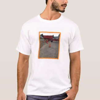 Construction worker and flagger worker T-Shirt