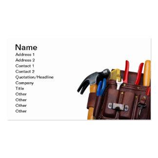 Construction Worker Handy Man Business Card